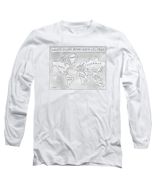 New Yorker August 25th, 1997 Long Sleeve T-Shirt