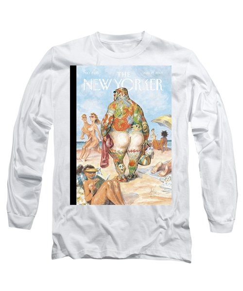New Yorker August 29th, 2005 Long Sleeve T-Shirt