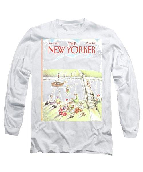 New Yorker August 2nd, 1982 Long Sleeve T-Shirt