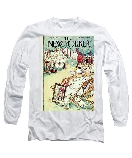 New Yorker August 3 1935 Long Sleeve T-Shirt