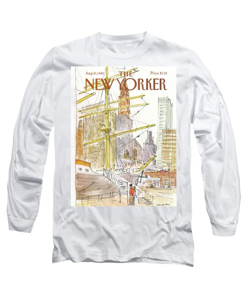 New Yorker August 31st, 1981 Long Sleeve T-Shirt