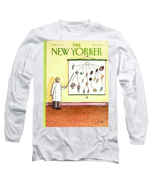 New Yorker August 4th, 1986 Long Sleeve T-Shirt