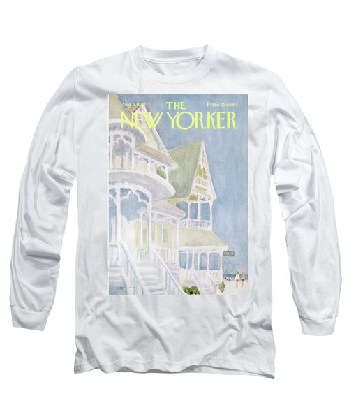 New Yorker August 5th, 1967 Long Sleeve T-Shirt