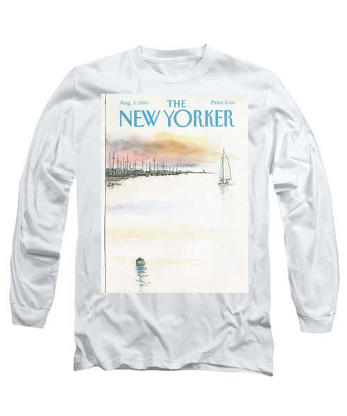 New Yorker August 5th, 1985 Long Sleeve T-Shirt