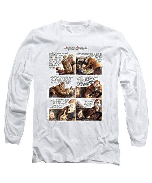 New Yorker December 12th, 1994 Long Sleeve T-Shirt