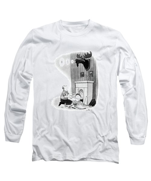 New Yorker December 13th, 1947 Long Sleeve T-Shirt