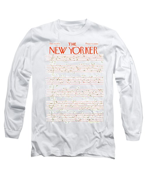 New Yorker December 15th, 1975 Long Sleeve T-Shirt