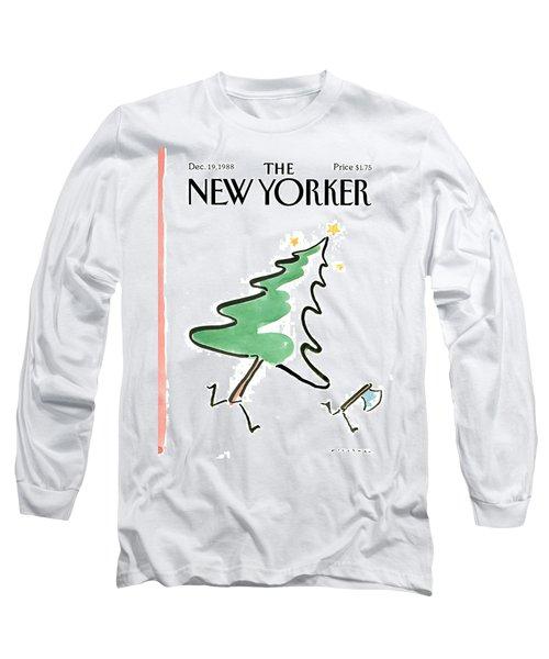 New Yorker December 19th, 1988 Long Sleeve T-Shirt