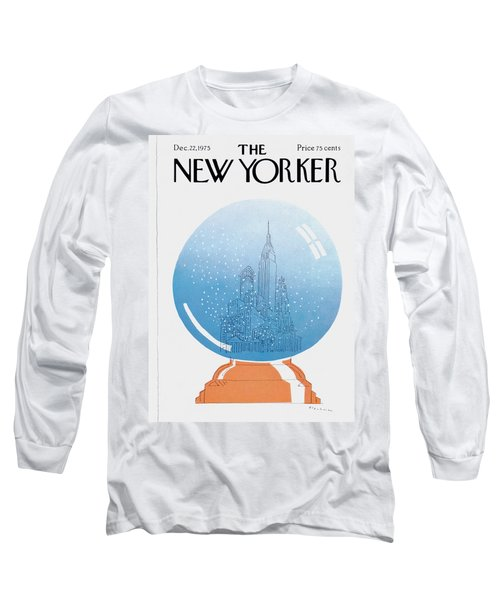 New Yorker December 22nd, 1975 Long Sleeve T-Shirt