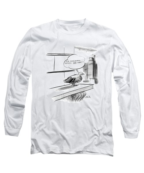 New Yorker December 28th, 1987 Long Sleeve T-Shirt