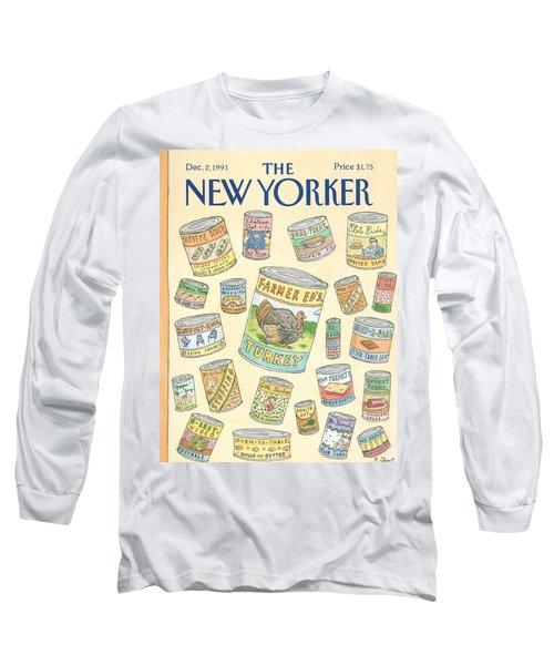 New Yorker December 2nd, 1991 Long Sleeve T-Shirt