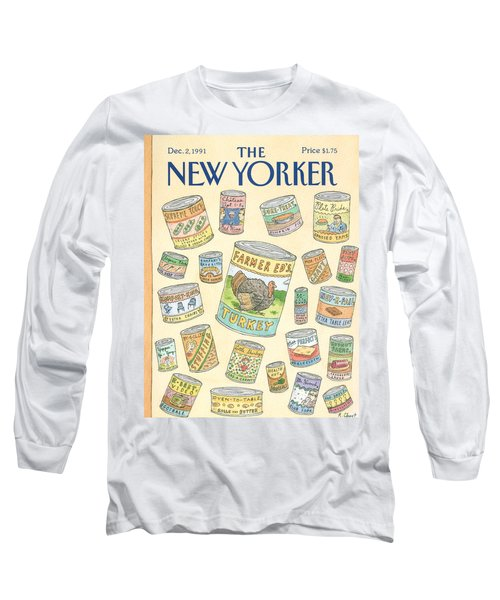 New Yorker December 2nd, 1991 Long Sleeve T-Shirt