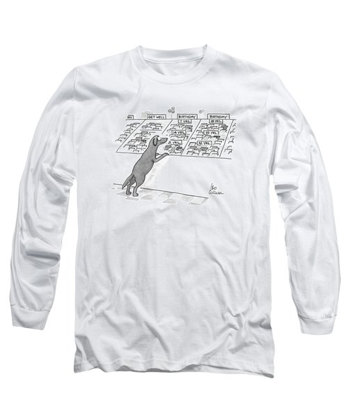 New Yorker December 7th, 1992 Long Sleeve T-Shirt