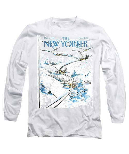 New Yorker December 8th, 1986 Long Sleeve T-Shirt