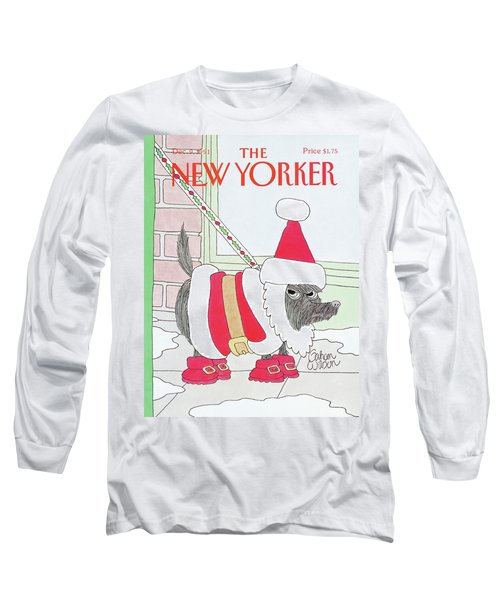 New Yorker December 9th, 1991 Long Sleeve T-Shirt