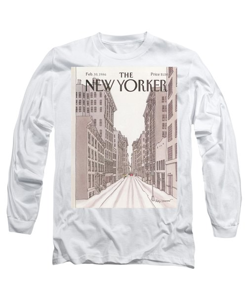New Yorker February 10th, 1986 Long Sleeve T-Shirt