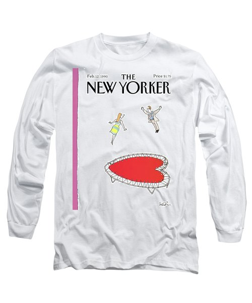 New Yorker February 12th, 1990 Long Sleeve T-Shirt