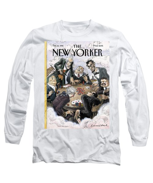 New Yorker February 12th, 1996 Long Sleeve T-Shirt