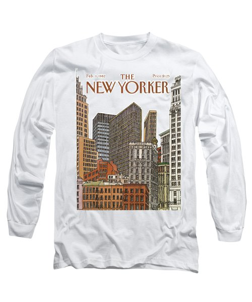 New Yorker February 1st, 1982 Long Sleeve T-Shirt