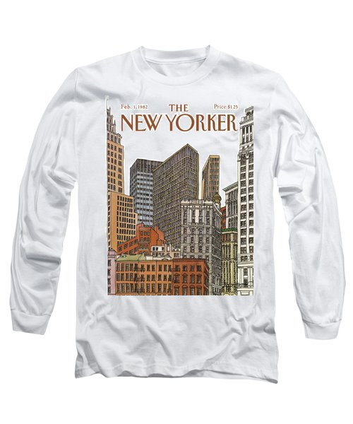 New Yorker February 1st, 1982 Long Sleeve T-Shirt