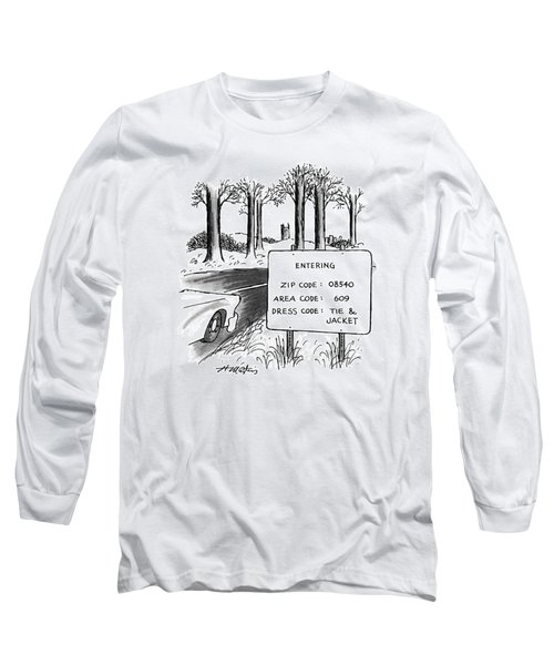 New Yorker February 1st, 1993 Long Sleeve T-Shirt