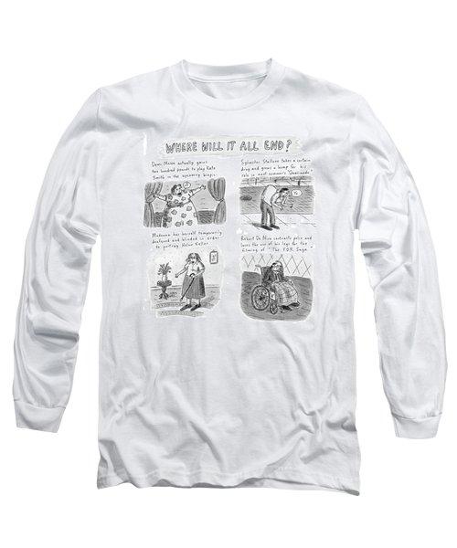 New Yorker February 23rd, 1998 Long Sleeve T-Shirt
