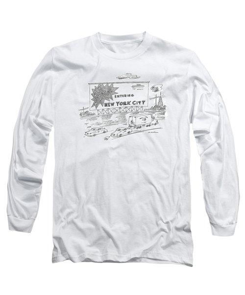 New Yorker February 24th, 1997 Long Sleeve T-Shirt