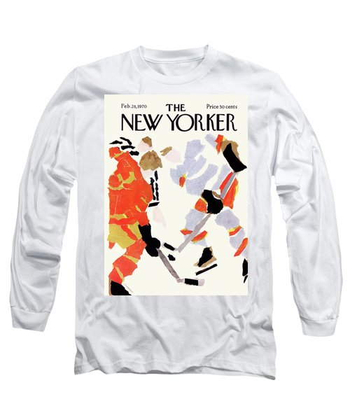 New Yorker February 28th, 1970 Long Sleeve T-Shirt