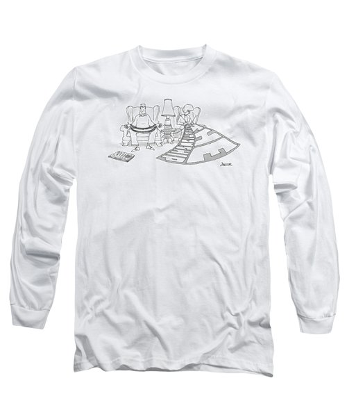 New Yorker February 3rd, 1997 Long Sleeve T-Shirt