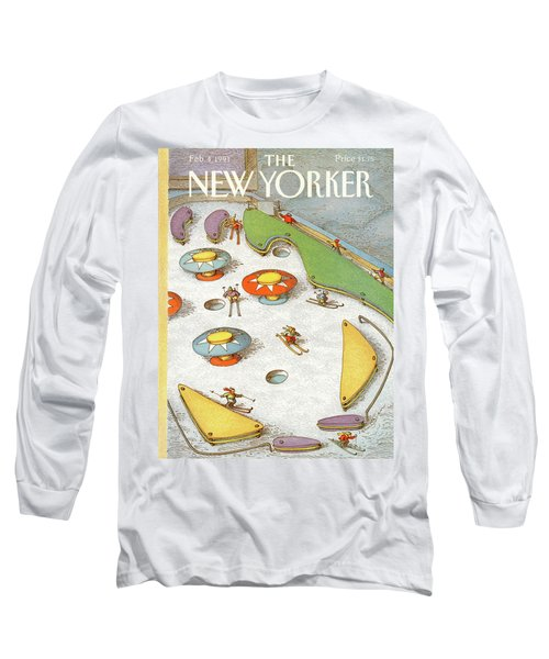 New Yorker February 4th, 1991 Long Sleeve T-Shirt