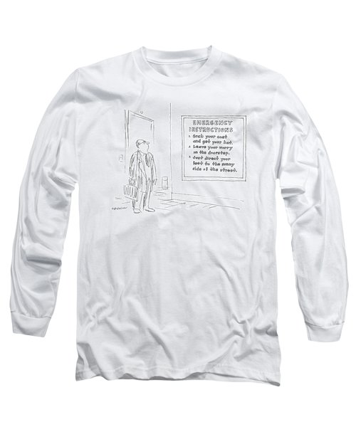 New Yorker January 10th, 1977 Long Sleeve T-Shirt