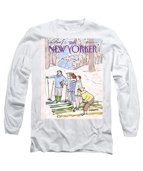 New Yorker January 11th, 1988 Long Sleeve T-Shirt