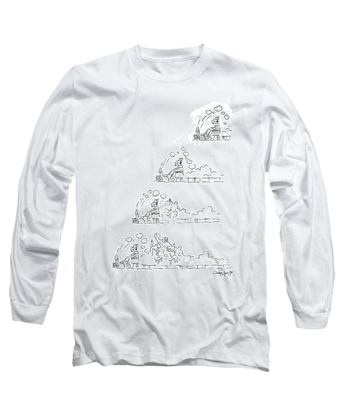 New Yorker January 12th, 1987 Long Sleeve T-Shirt