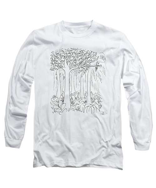 New Yorker January 13th, 1986 Long Sleeve T-Shirt