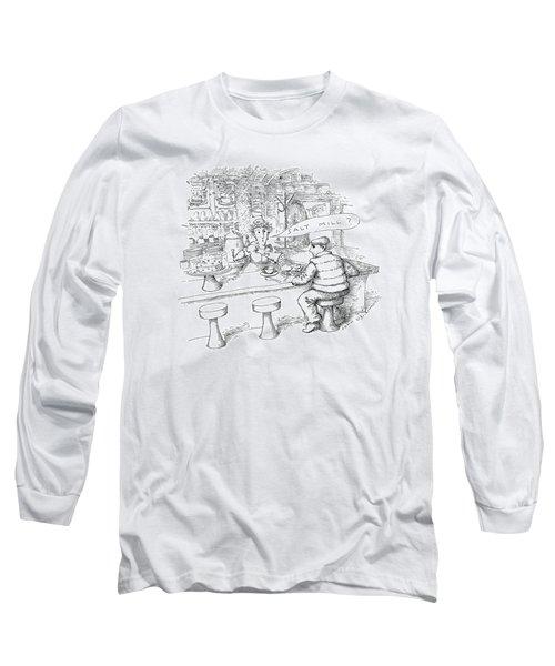New Yorker January 18th, 1988 Long Sleeve T-Shirt