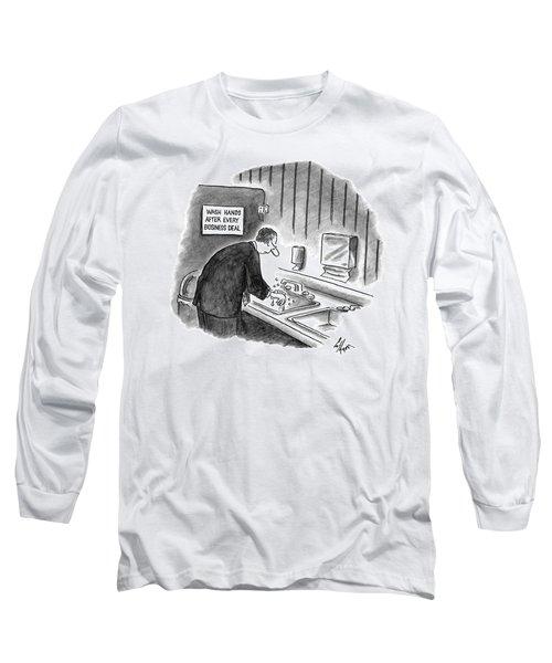 New Yorker January 19th, 1998 Long Sleeve T-Shirt