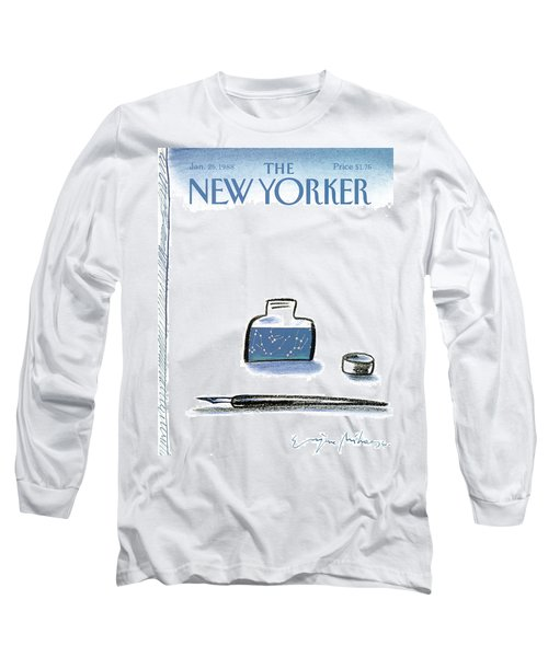 New Yorker January 25th, 1988 Long Sleeve T-Shirt