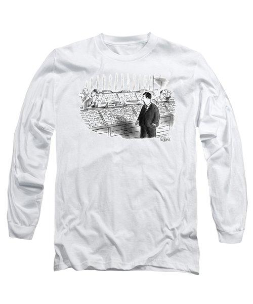 New Yorker January 25th, 1993 Long Sleeve T-Shirt