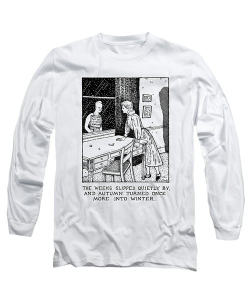 New Yorker January 27th, 1992 Long Sleeve T-Shirt