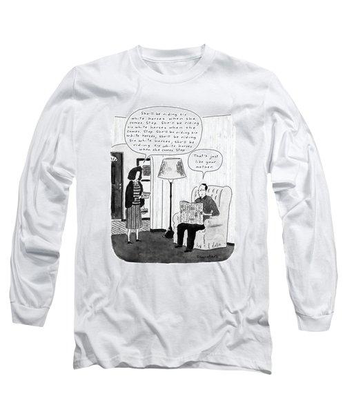 New Yorker January 28th, 1991 Long Sleeve T-Shirt