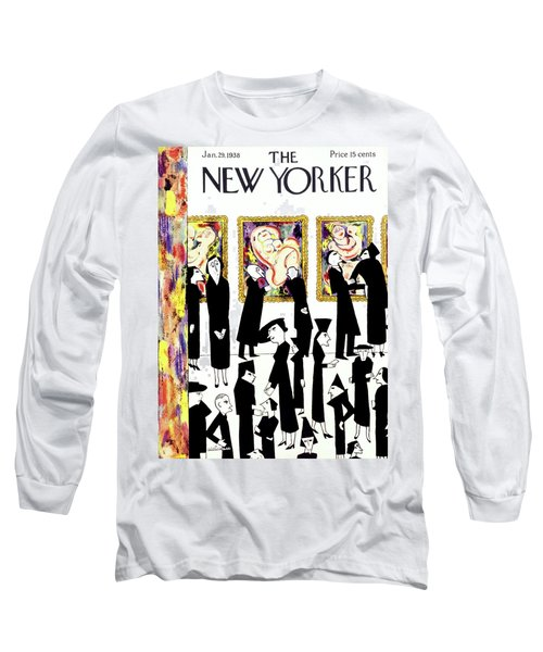 New Yorker January 29 1938 Long Sleeve T-Shirt