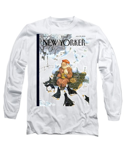 New Yorker January 29th, 2001 Long Sleeve T-Shirt