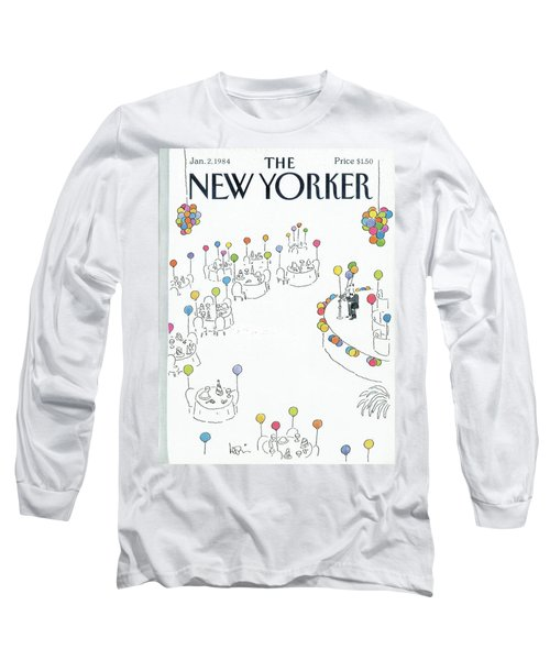 New Yorker January 2nd, 1984 Long Sleeve T-Shirt
