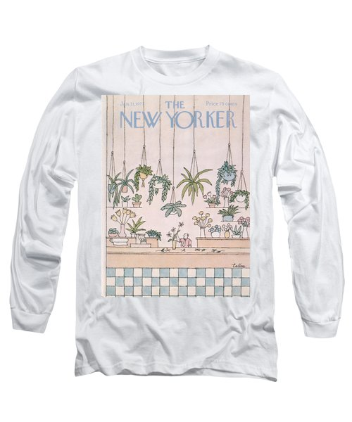 New Yorker January 31st, 1977 Long Sleeve T-Shirt