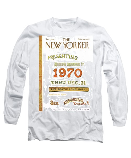 New Yorker January 3rd, 1970 Long Sleeve T-Shirt