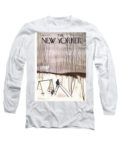 New Yorker January 5th, 1963 Long Sleeve T-Shirt