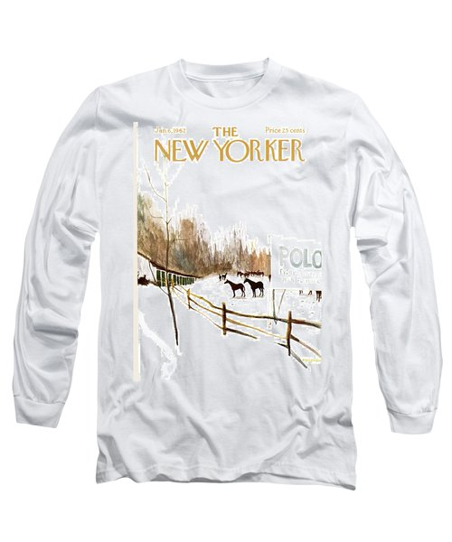 New Yorker January 6th, 1962 Long Sleeve T-Shirt