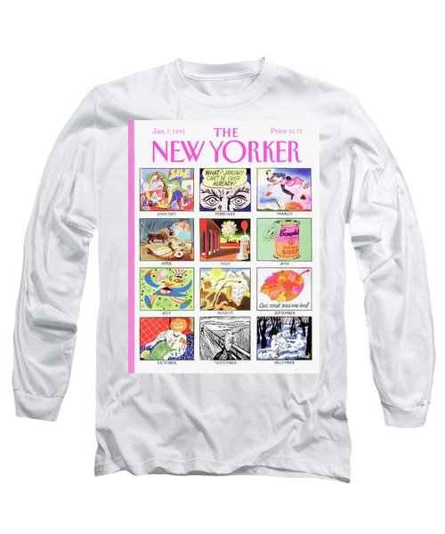New Yorker January 7th, 1991 Long Sleeve T-Shirt