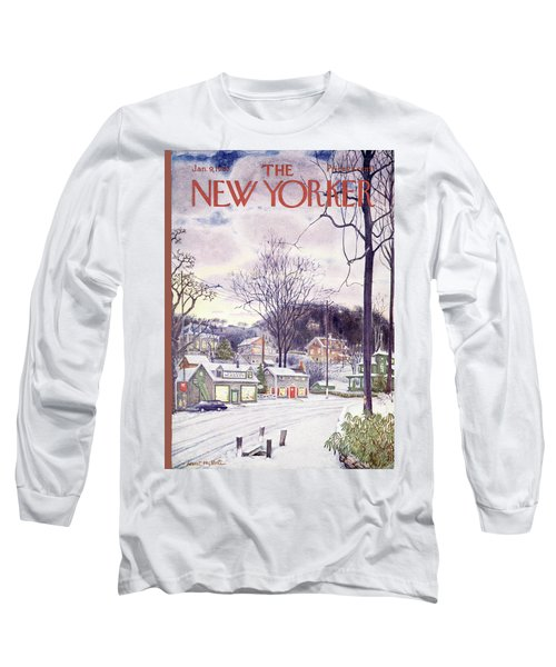 New Yorker January 9th, 1965 Long Sleeve T-Shirt