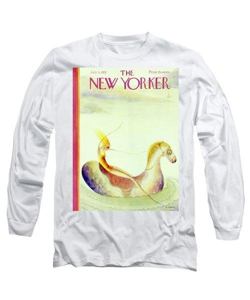 New Yorker July 11 1931 Long Sleeve T-Shirt